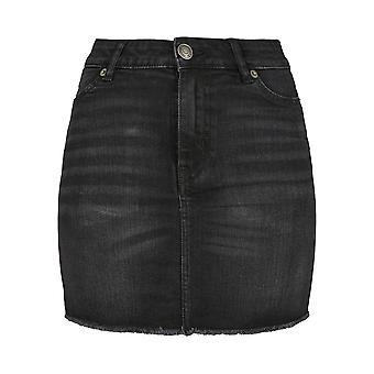 Urban Classics Women's Denim Skirt Denim