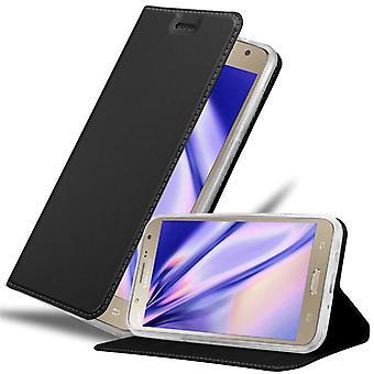 Cadorabo tapauksessa Samsung Galaxy J7 2015 tapauksessa tapauksessa kansi - puhelin kotelo magneettinen lukko, seistä toiminto ja korttiosasto - Case Cover suojakotelo tapauksessa Kirja Folding Style