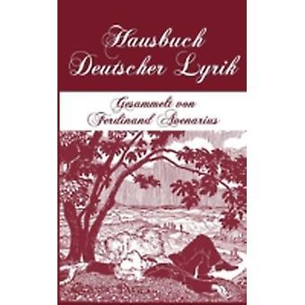 Hausbuch Deutscher Lyrik by Avenarius & Ferdinand Hg.
