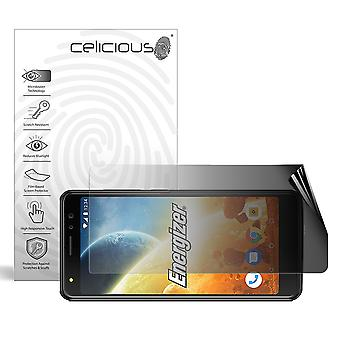 Celicious Privacy 2-Way Landscape Anti-Spy Filter Screen Protector Film Compatible with Energizer Power Max P490S