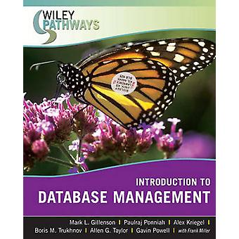 Introduction to Database Management by Gillenson & Mark L.