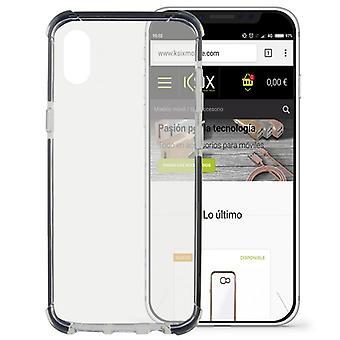Mobile kansi Iphone X KSIX Flex Armor läpinäkyvä