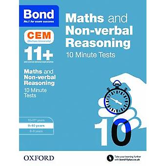 Bond 11 Maths  Nonverbal Reasoning CEM 10 Minute Tests by Michellejoy Hughes