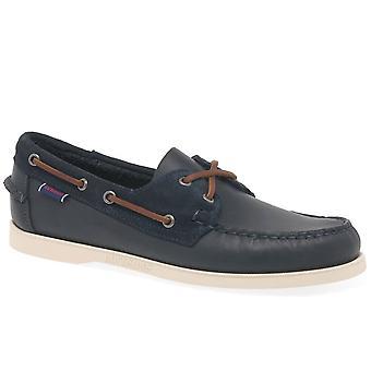 Sebago Portland Winch Mens Casual Boat Shoes