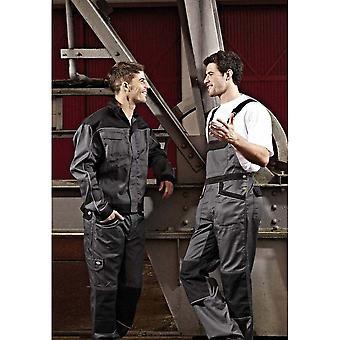 Dickies Unisex industria 260 Bib & Brace batas (pierna Regular y alta) / ropa de trabajo