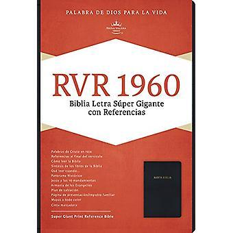 RVR 1960 Biblia Letra Super Gigante - negro imitacion piel by B&H