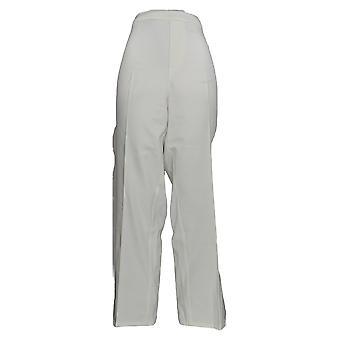Isaac Mizrahi Live! Damen's Plus Hose 24/7 Stretch Knöchel weiß A220443