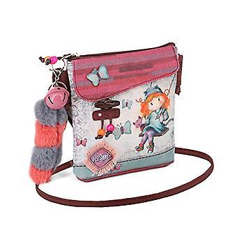 Forever Ninette Ninette Swing-Flap Walk Schultertasche Messenger Bag 21 cm Multicolored (Multicolour)
