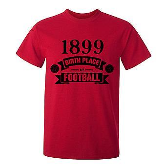 לידתה של מילאנו Ac של חולצת כדורגל T (אדום)
