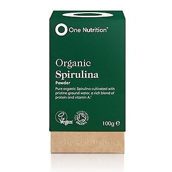 One Nutrition Organic Spirulina Powder 100g (ONE004)