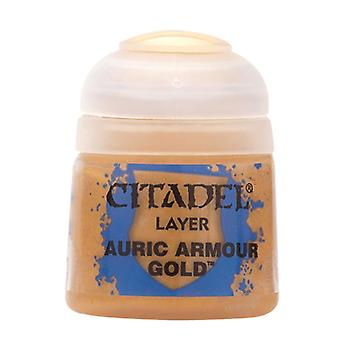 Auric Armour Gold, Citadel Paint - Layer, Warhammer 40,000/Age of Sigmar
