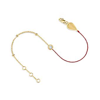 Bracelet Couture Constellation Gold - 18K Gold - Yellow Gold, Champagne