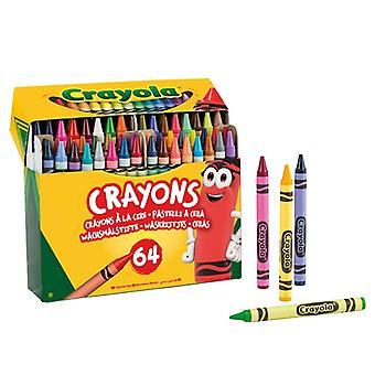 Coloured crayons Crayola (64 pcs)