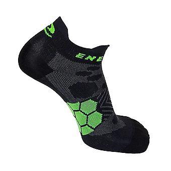 Enertor Energy Run Pro Running Fitness Sports Socks Black/Green