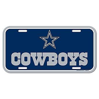 Wincraft NFL Kennzeichenschild - Dallas Cowboys