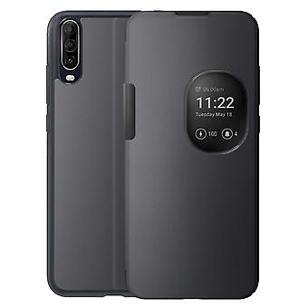 Protective Cover Wiko View 4 Lite Touch Window Support Smart Folio Original Grey