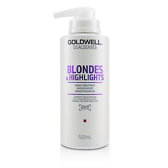 Dual senses blondes & highlights 60 sec treatment (luminosity for blonde hair) 233119 500ml/16.9oz