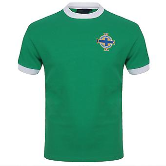 Northern Ireland Official Gift Mens Retro Football Kit Shirt George Best 11 GAWA