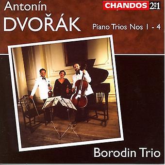 A. Dvorak - Dvor K: Piano Trios Nos. 1-4 [CD] USA import