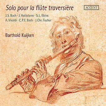 Solo Pour La Flute Traversiere [CD] USA import