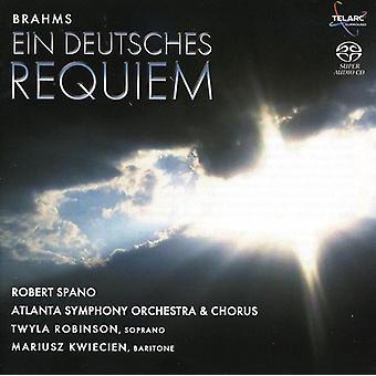 J. Brahms - Brahms: Ein Deutsches Requiem [Hybrid Sacd] [SACD] USA import