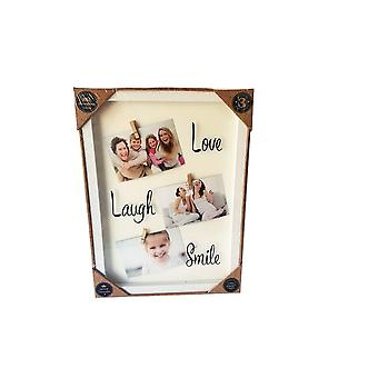 Love, laugh, smile frame