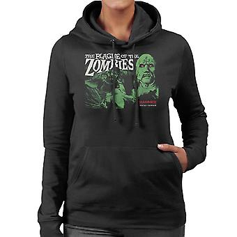 Hammer The Plague Of The Zombies Poster Women's Hooded Sweatshirt