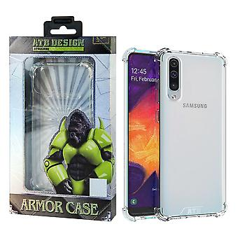 Samsung A10 Hoesje Transparant - Anti-Shock
