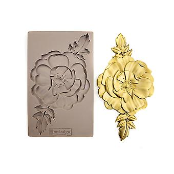 Re-Design with Prima In Bloom 5x8 Inch Mould