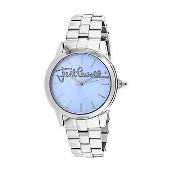JC1L006M0065, Just Cavalli Women's Logo - Bleu - Quartz Watch