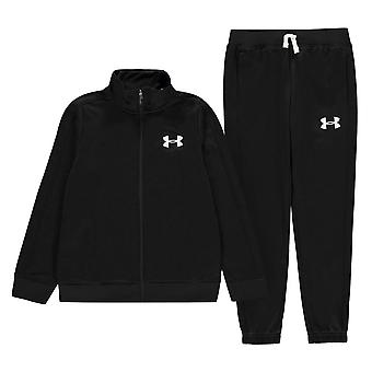 Under Armour Boys Knit Survêtement à manches longues Zip Jacket & Joggers Bottoms