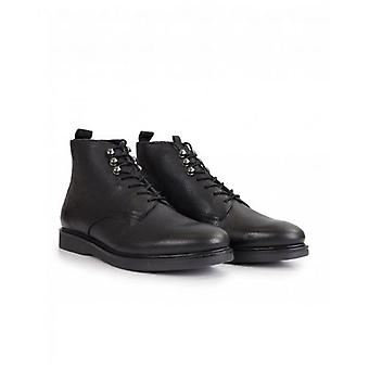 H By Hudson Battle Leather Boots