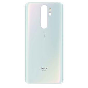 غطاء بطارية بديل ل Xiaomi Redmi Note 8 Pro الغطاء الخلفي - أبيض