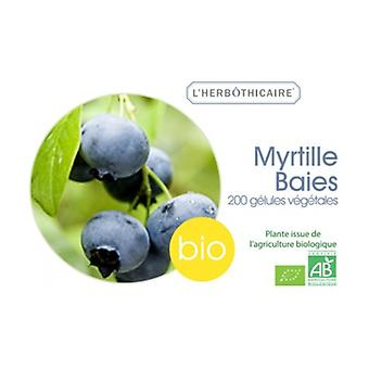 Myrtille baies bio 200 capsules de 250mg