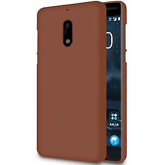 Ultra Thin Shell for Nokia 5.1 Soft Ultra-Slim Solid Color Silicone Light Brown