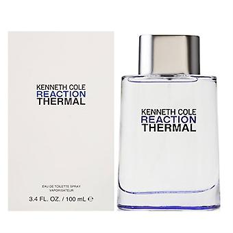 Reaction Thermal by Kenneth Cole for Men 3.4 oz Eau De Toilette Spray