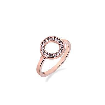Emozioni Saturno Rose Gold Plated Ring ER002