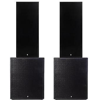 Big gig rig 5 - passive 5400w rms twin 15 tops and 21 subwoofer pa system
