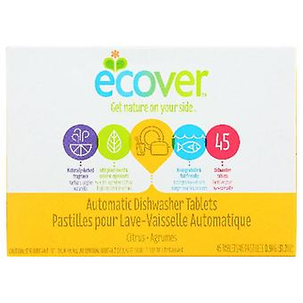 Ecover Automatic Dishwasher Tablets, Tab Citrus 45PC(case of 5)