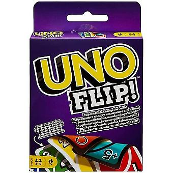 Mattel games uno flip classic card game, ideal games for kids, double sided