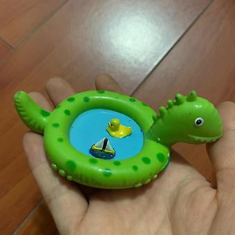 Dinosaurieformad liten poolscenmodell
