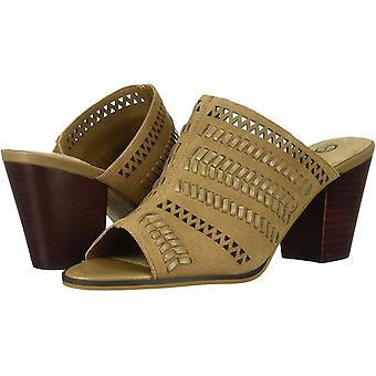 Bella Vita Women's Koraline Slide Sandal on Block Heel Mule
