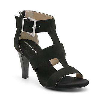 Adrienne Vittadini femei Varsity piele Open Toe casual glezna curea sandale