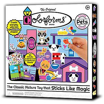 Colorforms Picture Play Set Pets USA import