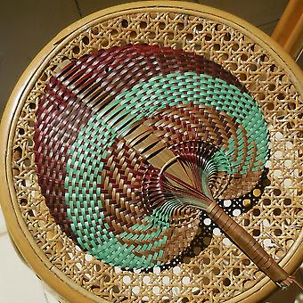 Hand Woven Fan Or Wall Decor