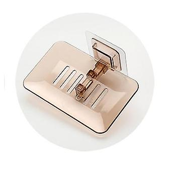 draagbare enkele laag, drainerende houder en container zeepkist voor keuken en