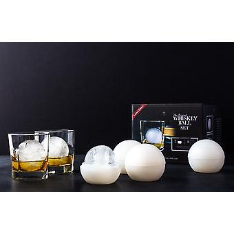 Whiskey Ball Ice Tray Set