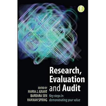 Onderzoek, evaluatie en audit: belangrijke stappen in het aantonen van uw waarde