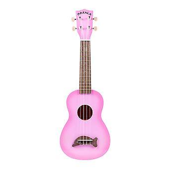 Makala mk-sd/pkburst dolphin bridge pink burst soprano ukulele