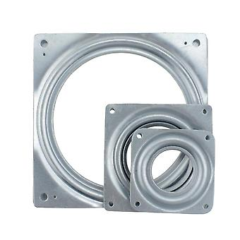 Tv Bracket Square 71mm Bearing, 360 Degrees Turntable Furniture Table Universal